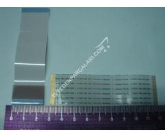 47PFL5028K PANEL T-CON ARASI LVDS FLEX KABLO , AWM 20861