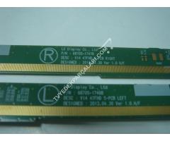 V14 47FHD S-PCB RİGHT,6870S1747B,V14 47FHD S-PCB LEFT,6870S-1746B,LC470DUN-PG-P1, 47PFK6309