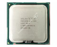 Intel® Pentium® E5200 İşlemci , 2M Önbellek, 2.50 GHz, 800 MHz FSB